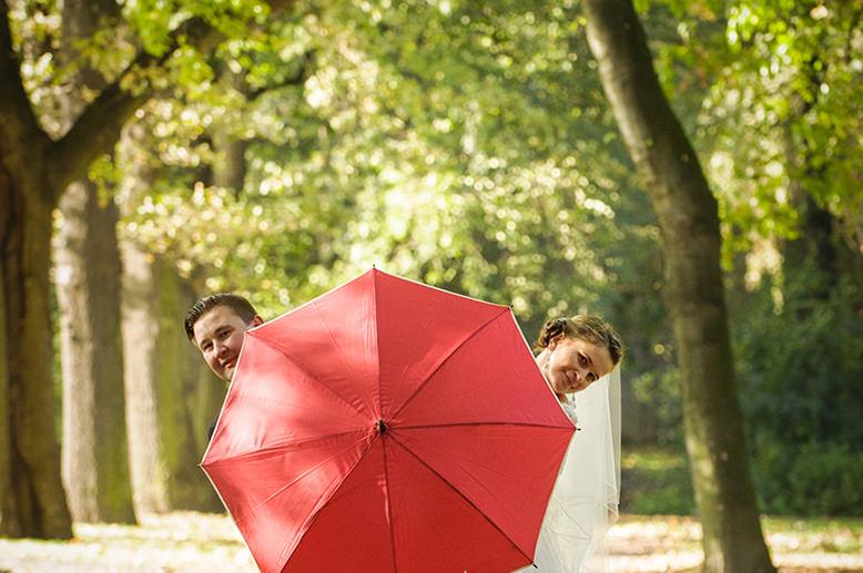 parasol panny młodej