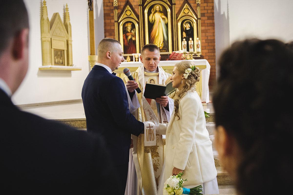 ślubna msza fotografia weselna