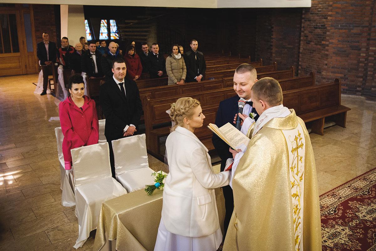 przysięga małżeńska fotografia ślubna