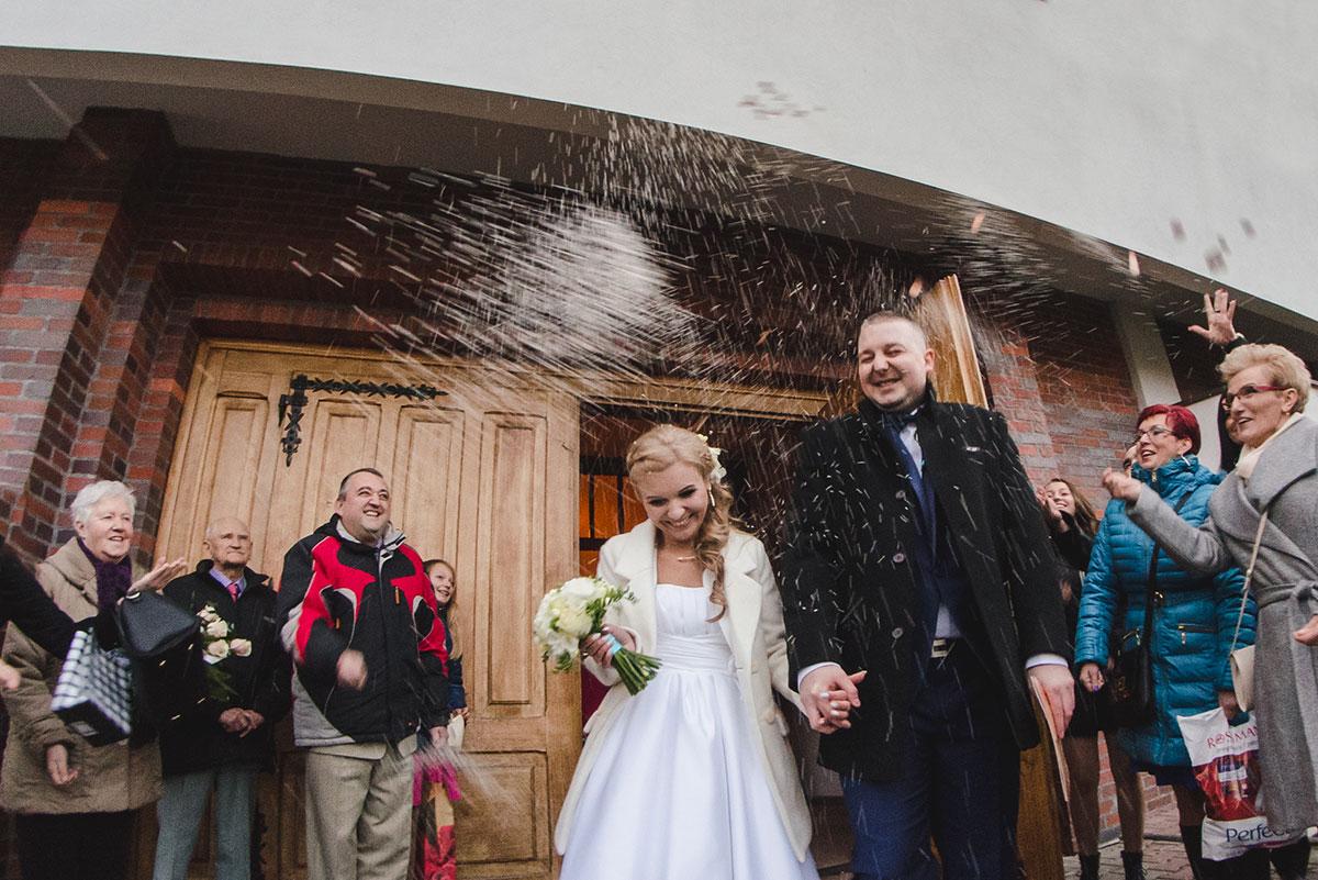 reportaż ze ślubu